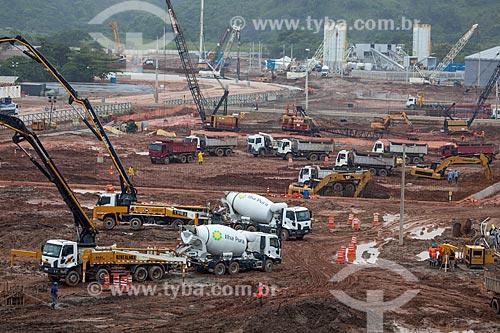 Assunto: Obras de construção Vila Olímpica Rio 2016 / Local: Barra da Tijuca - Rio de Janeiro (RJ) - Brasil / Data: 01/2013