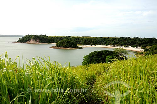 Assunto: Vista da Lagoa Juparanã / Local: Linhares - Espírito Santo (ES) - Brasil / Data: 01/2013