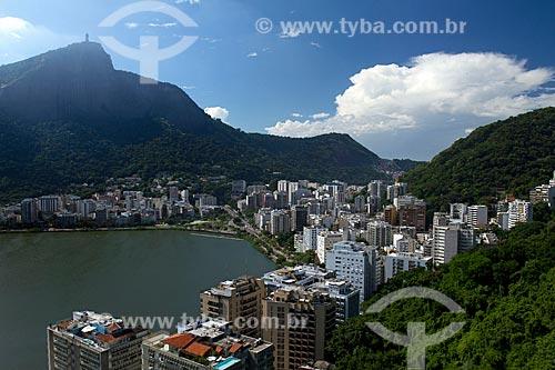 Assunto: Vista do mirante no Parque da Catacumba / Local: Rio de Janeiro (RJ) - Brasil / Data: 03/2010