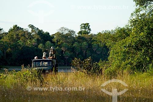 Assunto: Passeio de caminhonete pela Fazenda Barranco Alto / Local: Aquidauana - Mato Grosso do Sul (MS) - Brasil / Data: 05/2010
