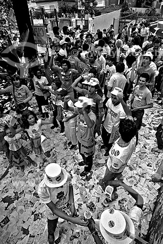 Assunto: Primeiras eleições diretas para governador após o golpe militar (e a parcial de 1965) que aconteceram em 15 de novembro de 1982 em que André Franco Montoro foi eleito / Local: São Paulo (SP) - Brasil / Data: 11/1982