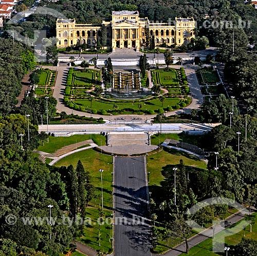 Assunto: Vista do Museu Paulista - também conhecido como Museu do Ipiranga / Local: São Paulo (SP) - Brasil / Data: 2008