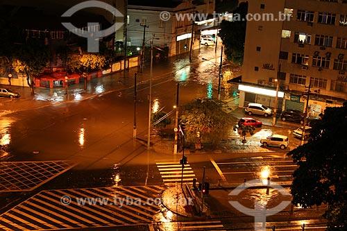 Assunto: Alagamento no cruzamento entre a Rua São Francisco Xavier e a Avenida Professor Manuel de Abreu após chuva / Local: Maracanã - Rio de Janeiro (RJ) - Brasil / Data: 01/2013
