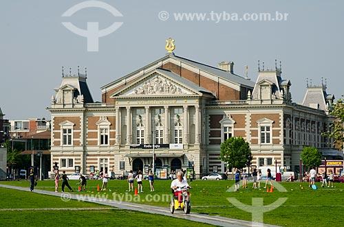 Assunto: Casa de Concertos (Concertgebouw) / Local: Amsterdam - Holanda - Europa / Data: 05/2012