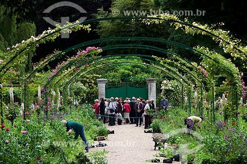 Assunto: Jardins de Claude Monet / Local: Giverny - França - Europa / Data: 06/2012