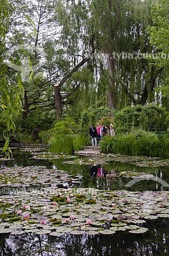 Assunto: Jardins de Claude Monet - Jardim das Nymphéas / Local: Giverny - França - Europa / Data: 06/2012