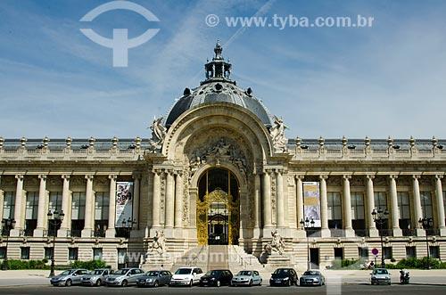 Assunto: Petit Palais (Pequeno Palácio) - 1900 / Local: Paris - França - Europa / Data: 06/2012