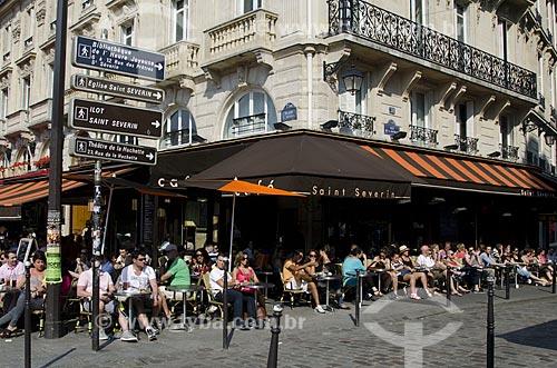 Assunto: Típico bistrô parisiense / Local: Paris - França - Europa / Data: 05/2012