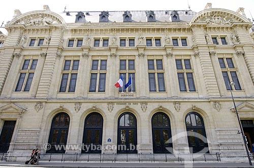 Assunto: Universidade de Sorbonne - também conhecida como Universidade de Paris / Local: Paris - França - Europa / Data: 05/2012