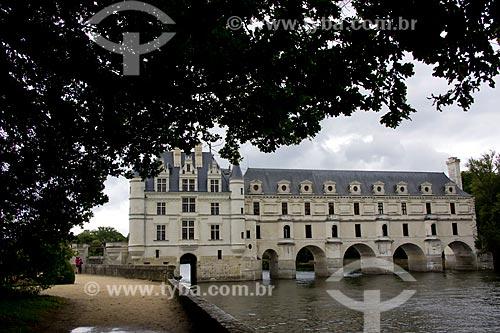 Assunto: Château de Chenonceau (Castelo de Chenonceau) - também conhecido como Castelo das Sete Damas / Local: Indre-et-Loire - França - Europa / Data: 06/2012