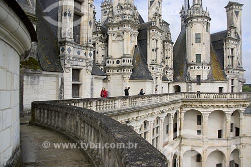 Assunto: Château de Chambord (Castelo de Chambord) / Local: Indre-et-Loire - França - Europa / Data: 06/2012