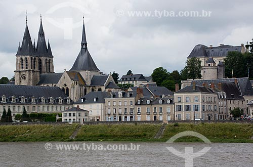 Assunto: Igreja de São Nicolau às margens do Rio Loire / Local: Blois - França - Europa / Data: 06/2012