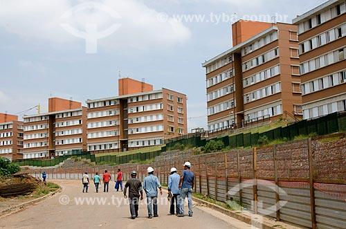Assunto: Reurbanização da Favela Paraisópolis / Local: Paraisópolis - São Paulo (SP) - Brasil / Data: 02/2012