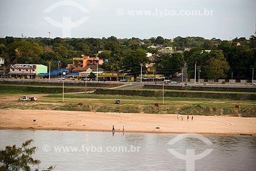 Assunto: Praia fluvial nas margens do Rio Araguaia / Local: Aragarças - Goiás (GO) - Brasil / Data: 10/2012