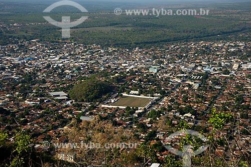Assunto: Cidade de Barra do Graças vista do morro do Cristo / Local: Barra do Garças - Mato Grosso (MT) - Brasil / Data: 10/2012