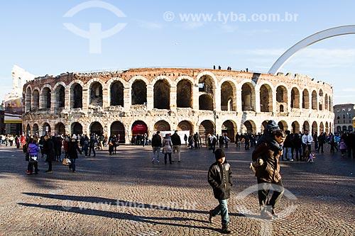 Assunto: Arena de Verona / Local: Verona - Itália - Europa / Data: 12/2012