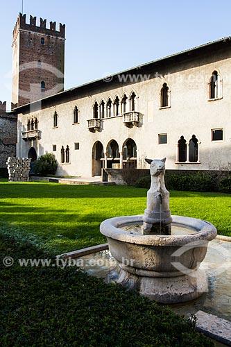 Assunto: Museu Cívico de Castelvecchio (Museo Civico di Castelvecchio) / Local: Verona - Itália - Europa / Data: 12/2012