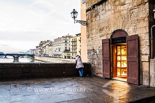 Assunto: Loja na Ponte Velha (Ponte Vecchio) / Local: Florença - Itália - Europa / Data: 12/2012