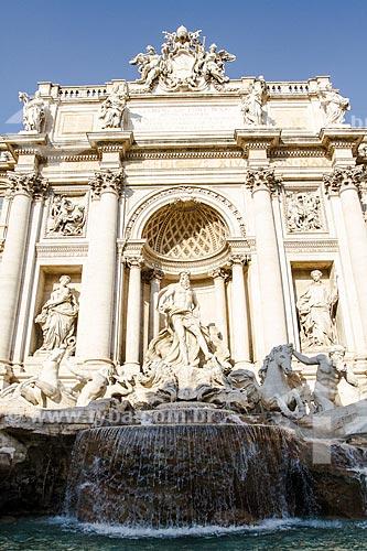 Assunto: Fonte de Trevi (Fontana di Trevi) / Local: Roma - Itália - Europa / Data: 12/2012
