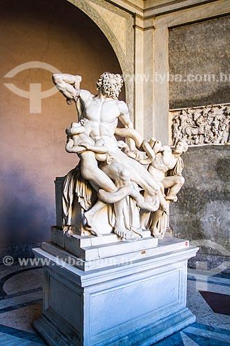 Assunto: Escultura Laocoonte e seus Filhos, exposta no Museu do Vaticano / Local: Cidade do Vaticano - Roma - Itália - Europa / Data: 12/2012