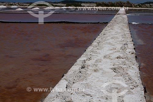 Assunto: Salinas da Laguna de Araruama / Local: Cabo Frio - Rio de Janeiro (RJ) - Brasil / Data: 02/2013