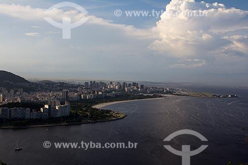 Assunto: Vista do Aterro do Flamengo - com o Morro da Viúva à esquerda / Local: Rio de Janeiro (RJ) - Brasil / Data: 03/2013