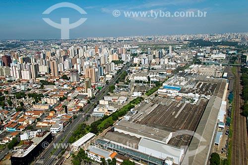 Assunto: Vista aérea da fábrica da General Motors na cidade de São Caetano do Sul / Local: São Caetano do Sul - São Paulo (SP) - Brasil / Data: 02/2013