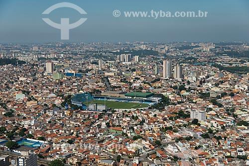 Assunto: Vista aérea Estádio Municipal Anacleto Campanella (1955) / Local: São Caetano do Sul - São Paulo (SP) - Brasil / Data: 02/2013