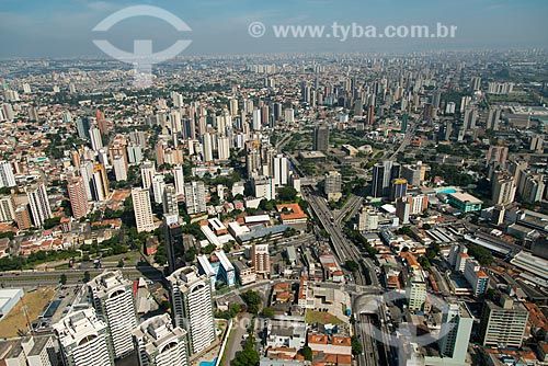 Assunto: Vista aérea do Paço Municipal - complexo de edifícios formados pelo Teatro, Biblioteca, Prefeitura, Fórum e Câmara Municipal de Santo André / Local: Santo André - São Paulo (SP) - Brasil / Data: 02/2013