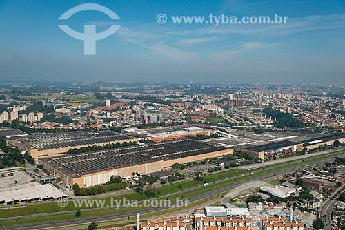 Assunto: Vista aérea da fábrica da Volkswagem / Local: São Bernardo do Campo - São Paulo (SP) - Brasil / Data: 02/2013