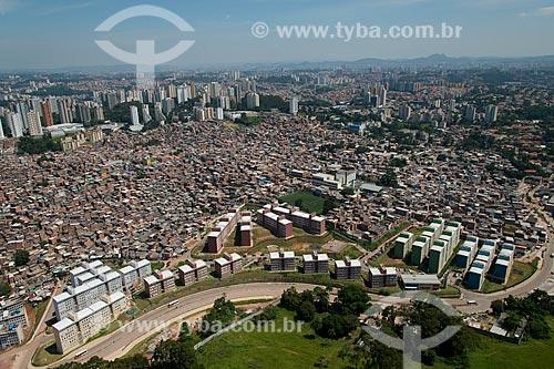 Assunto: Reurbanização da Favela Paraisópolis / Local: Paraisópolis - São Paulo (SP) - Brasil / Data: 02/2013