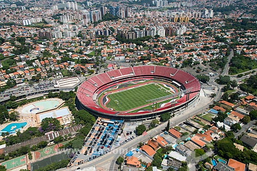 Assunto: Estádio Cícero Pompeu de Toledo (1960) - também conhecido como Estádio do Morumbi / Local: Morumbi - São Paulo (SP) - Brasil / Data: 02/2013