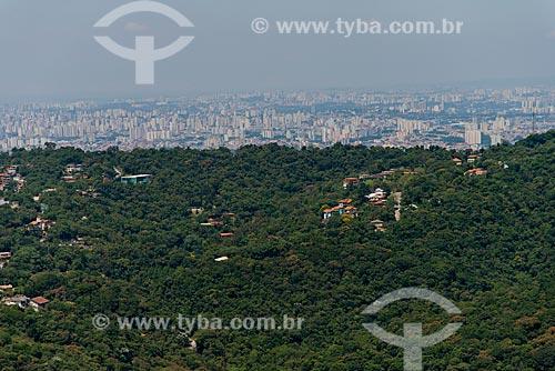 Assunto: Vista da Serra da Cantareira com a cidade ao fundo / Local: São Paulo (SP) - Brasil / Data: 02/2013