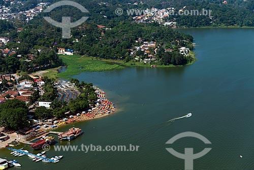 Assunto: Praia Fluvial na Represa Billings / Local: Riacho Grande - São Bernardo do Campo - São Paulo (SP) - Brasil / Data: 02/2013