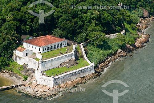 Assunto: Fortaleza de Santo Amaro da Barra Grande (1584) - também conhecida como Fortaleza da Praia Grande ou Fortaleza da Barra Grande / Local: Guarujá - São Paulo (SP) - Brasil / Data: 02/2013