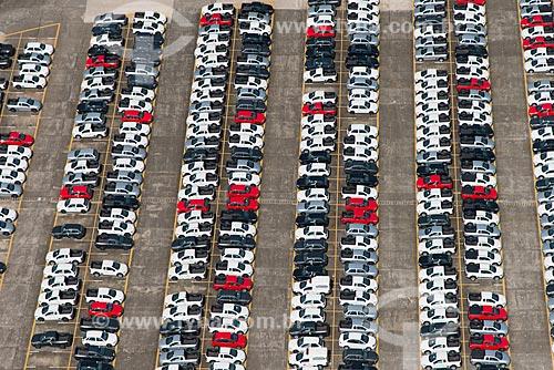 Assunto: Pátio de uma montadora / Local: São Bernardo do Campo - São Paulo (SP) - Brasil / Data: 02/2013