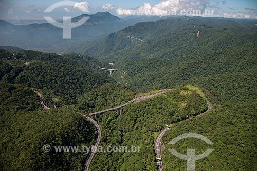 Assunto: Via Anchieta (SP-150) e Rodovia dos Imigrantes (SP-160) / Local: São Bernardo do Campo - São Paulo (SP) - Brasil / Data: 02/2013