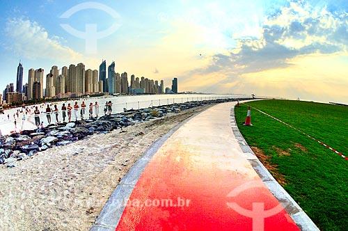 Assunto: Vista do bairro Dubai Marina / Local: Dubai Marina - Dubai - Emirados Árabes Unidos - Ásia / Data: 12/2012