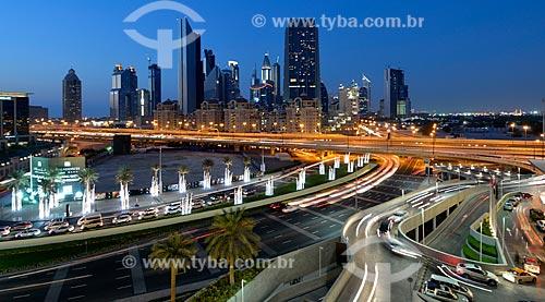 Assunto: Centro financeiro de Dubai / Local: Dubai - Emirados Árabes Unidos - Ásia / Data: 10/2012