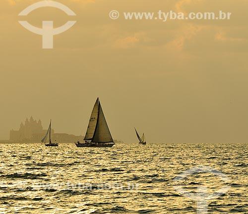 Assunto: Barcos à vela em Dubai / Local: Dubai - Emirados Árabes Unidos - Ásia / Data: 12/2012