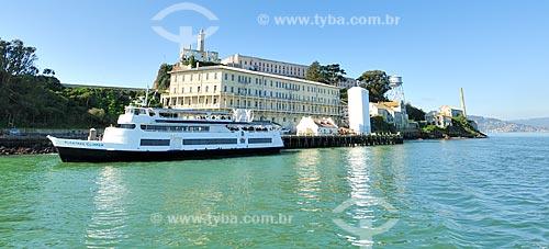 Assunto: Ilha de Alcatraz na Baía de São Francisco / Local: São Francisco - Califórnia - Estados Unidos da América - EUA / Data: 02/2013