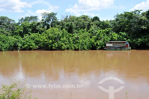 Assunto: Barco no Rio Aquidauana / Local: Aquidauana - Mato Grosso do Sul (MS) - Brasil / Data: 01/2013