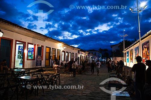 Assunto: Exposição na rua do 8° Paraty em Foco - Festival Internacional de Fotografia / Local: Paraty - Rio de Janeiro (RJ) - Brasil / Data: 09/2012