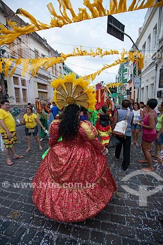 Assunto: Componentes da Troça Carnavalesca Tô Chegando Agora durante o carnaval / Local: Recife - Pernambuco (PE) - Brasil / Data: 02/2013