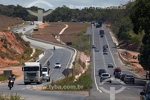 Assunto: Obras de duplicação da Rodovia BR 101 entre as cidades de Recife e João Pessoa / Local: Goiana - Pernambuco (PE) - Brasil / Data: 02/2013
