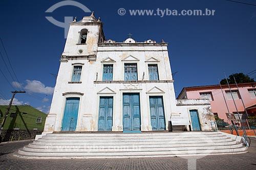 Assunto: Fachada da Igreja de Nossa Senhora da Conceição (1887) / Local: Goiana - Pernambuco (PE) - Brasil / Data: 02/2013