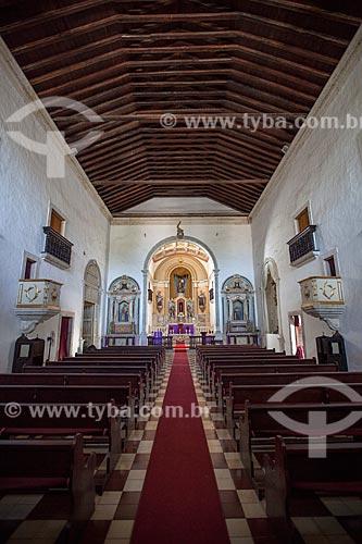 Assunto: Interior da Igreja da Ordem Terceira de Nossa Senhora do Carmo que integra o Conjunto Arquitetônico Carmelita - Século XVII / Local: Goiana - Pernambuco (PE) - Brasil / Data: 02/2013