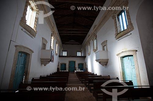 Assunto: Interior da Igreja de Nossa Senhora da Guia (Século XVI) - também conhecida como Santuário da Guia / Local: Lucena - Paraíba (PB) - Brasil / Data: 02/2013