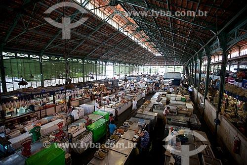 Assunto: Interior do Mercado de São José (1875) / Local: Recife - Pernambuco (PE) - Brasil / Data: 02/2013