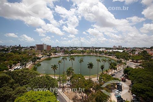 Assunto: Lagoa do Parque Sólon de Lucena - também conhecido simplesmente como Lagoa / Local: João Pessoa - Paraíba (PB) - Brasil / Data: 02/2013